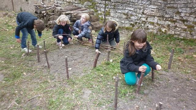 carrés de jardin en bois